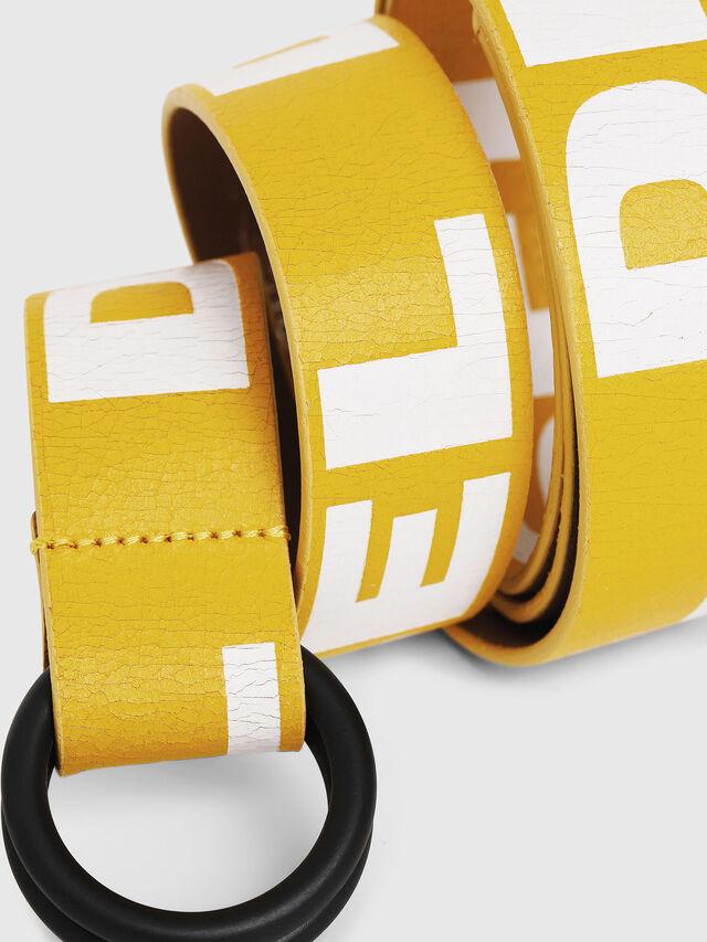 Diesel - B-LETTER, Yellow - Belts - Image 2
