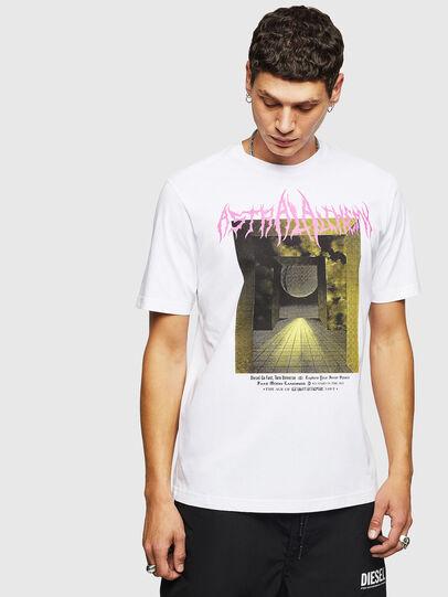 Diesel - T-JUST-B24, White - T-Shirts - Image 1