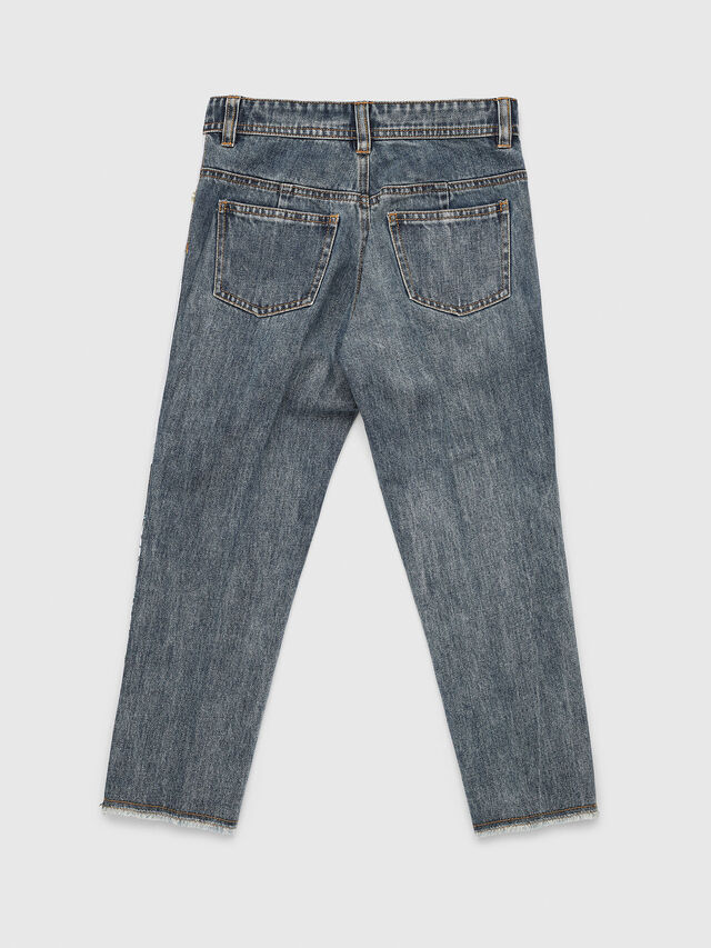 Diesel - PGITTE, White/Blue - Pants - Image 2