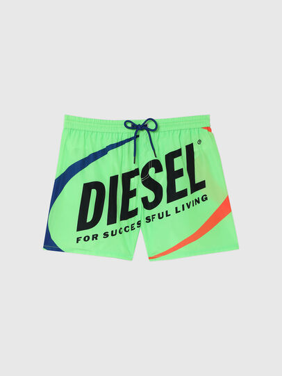 Diesel - BMBX-WAVE 2.017, Green - Swim shorts - Image 4