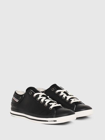 Diesel - EXPOSURE IV LOW  W, Black - Sneakers - Image 2