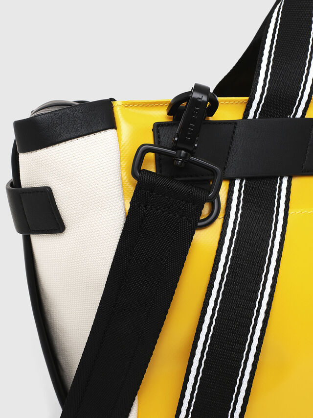 Diesel - F-CAORLY SATCHEL M, Yellow - Bags - Image 4