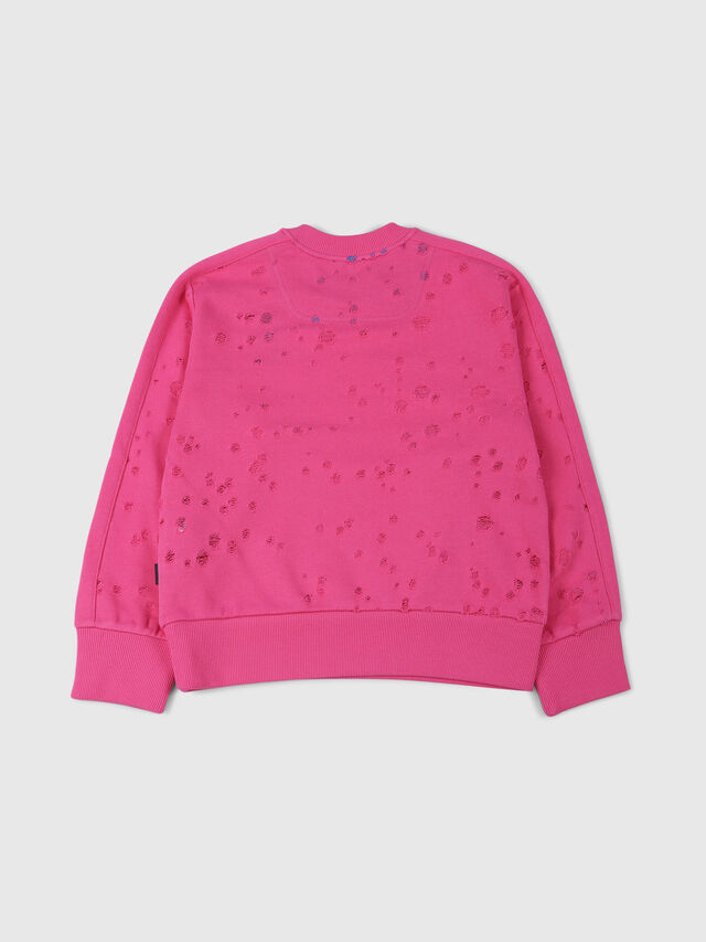 Diesel - SGRAHAM OVER, Hot pink - Sweaters - Image 2