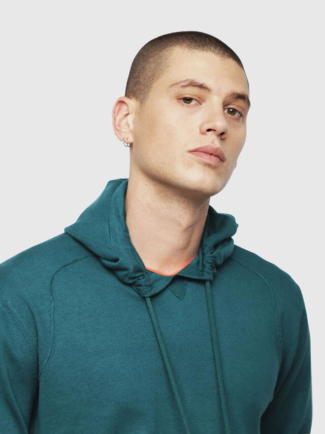 Diesel - K-MAXS, Dark Green - Knitwear - Image 3