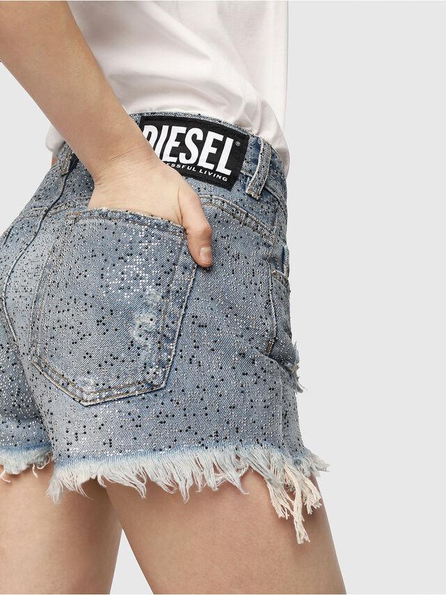 Diesel - DE-RIFTY-S, Blue Jeans - Shorts - Image 4