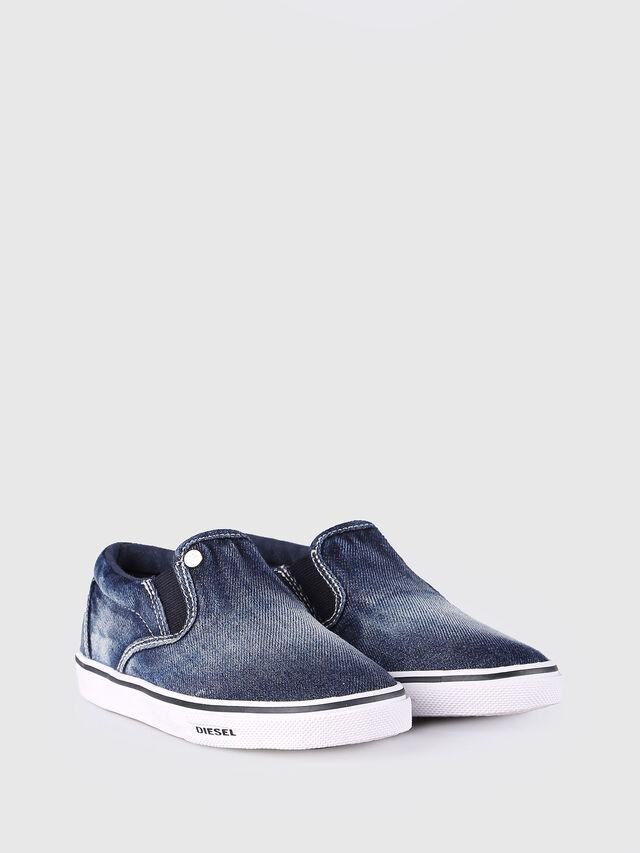 KIDS SLIP ON 21 DENIM CH, Blue Jeans - Footwear - Image 2