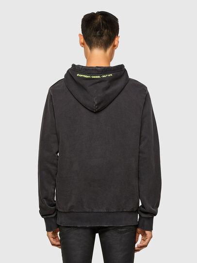 Diesel - S-GIRRIB-HOOD-A71, Black - Sweaters - Image 2