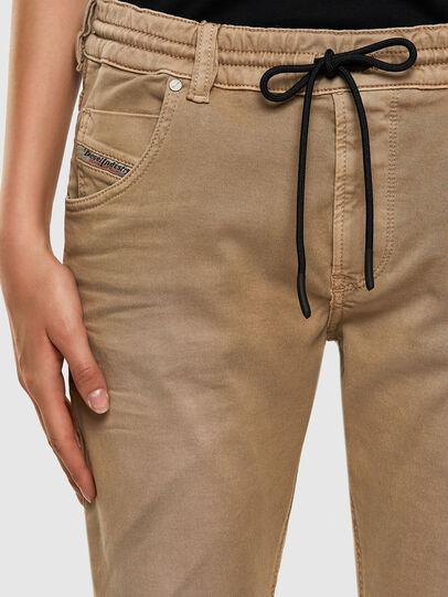 Diesel - Krailey JoggJeans 0670M, Beige - Jeans - Image 3
