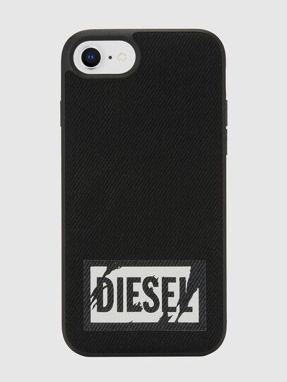 Diesel - BLACK DENIM IPHONE 8/7/6S/6 CASE, Black - Cases - Image 2