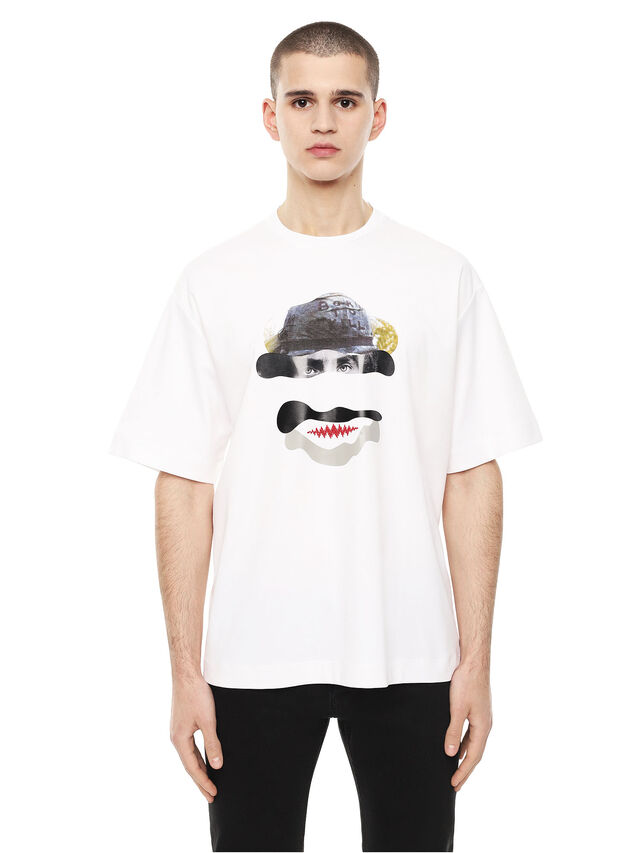 Diesel - TEORIA-FRICCARMY, White - T-Shirts - Image 1