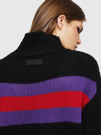 Diesel - M-CARA, Black - Knitwear - Image 5