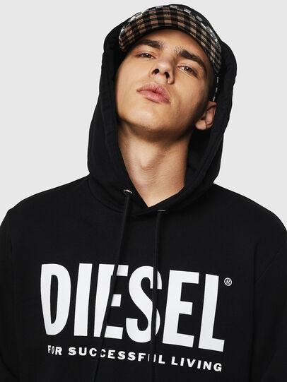 Diesel - S-GIR-HOOD-DIVISION-, Black - Sweaters - Image 3