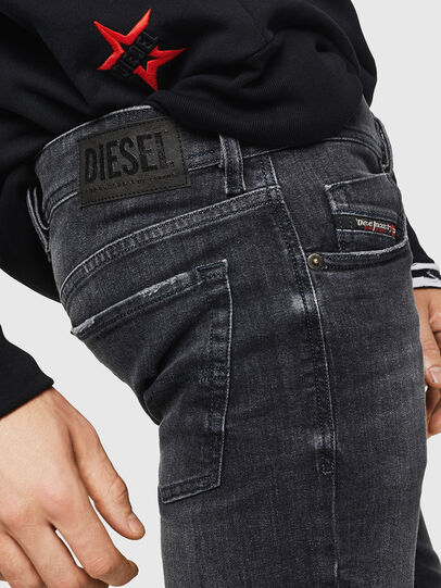 Diesel - Sleenker 084AT, Black/Dark grey - Jeans - Image 5