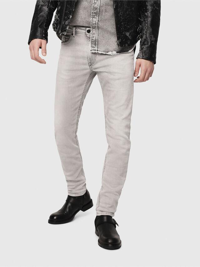 Diesel - Thommer 0684I, Light Grey - Jeans - Image 1