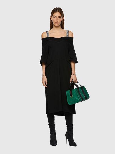 Diesel - D-WORKIE, Black - Dresses - Image 5
