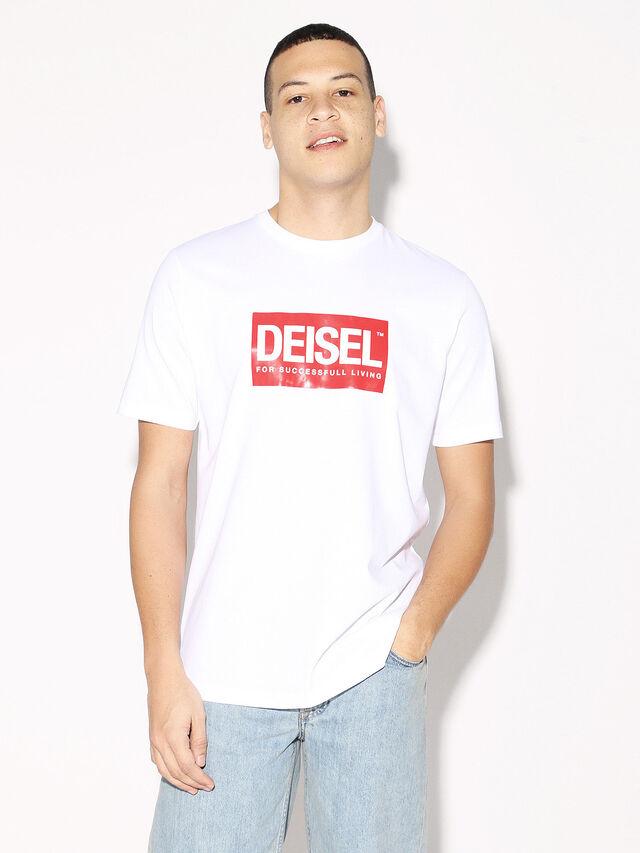 Diesel - DEIS-JUST, White - T-Shirts - Image 2