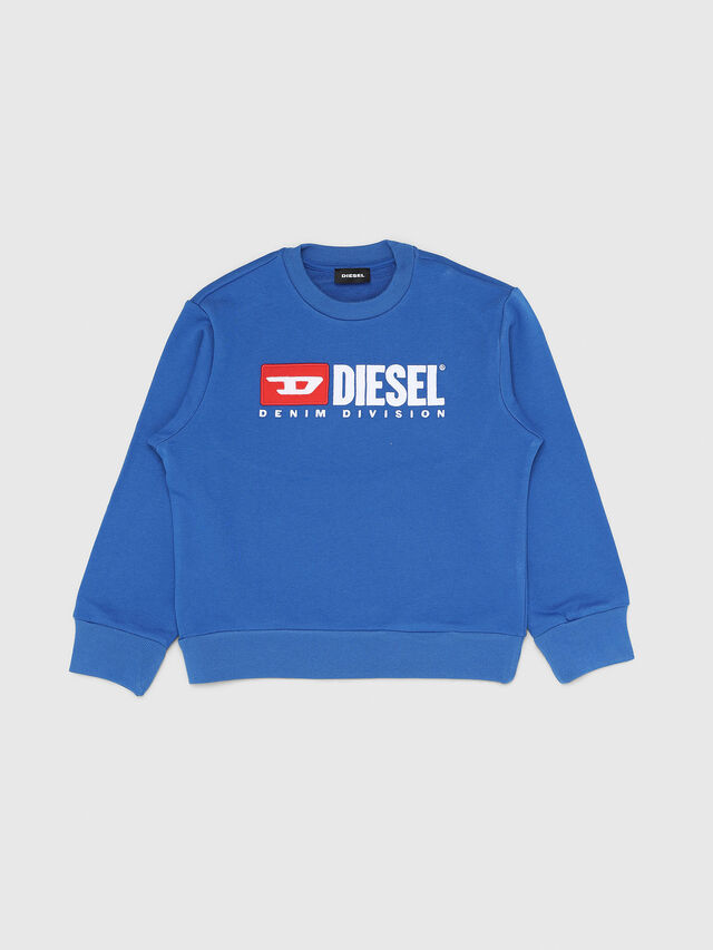 Diesel - SCREWDIVISION OVER, Cerulean - Sweaters - Image 1