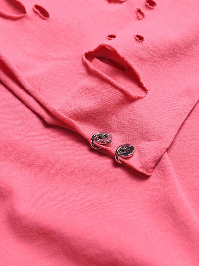 Diesel - TFIENA, Pink - T-shirts and Tops - Image 3
