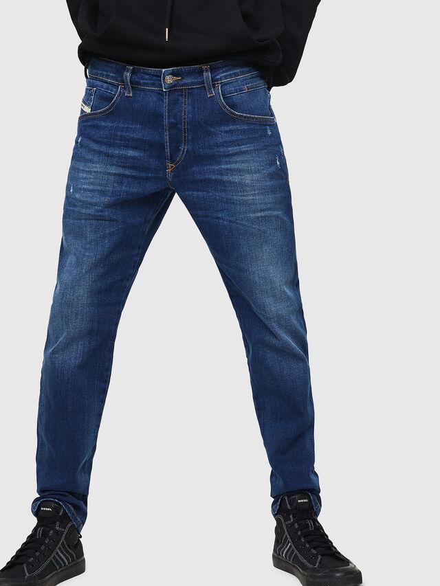 Diesel - D-Bazer 083AZ, Medium blue - Jeans - Image 1