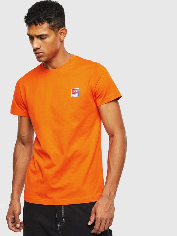 T-DIEGO-DIV, Orange - T-Shirts