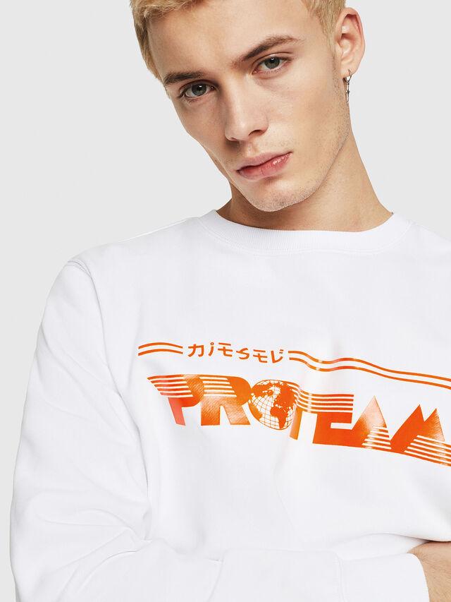 Diesel - S-GIR-Y1, White - Sweaters - Image 3
