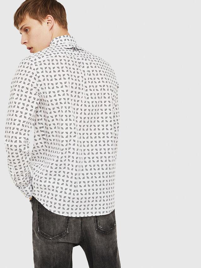 Diesel - S-AKURA, White/Black - Shirts - Image 2