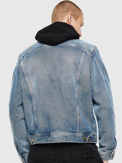 Diesel - D-BRAY, Blue Jeans - Denim Jackets - Image 2