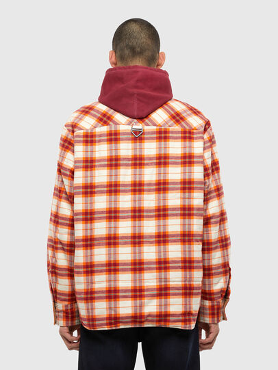 Diesel - J-TANIFER, Red/White - Jackets - Image 2