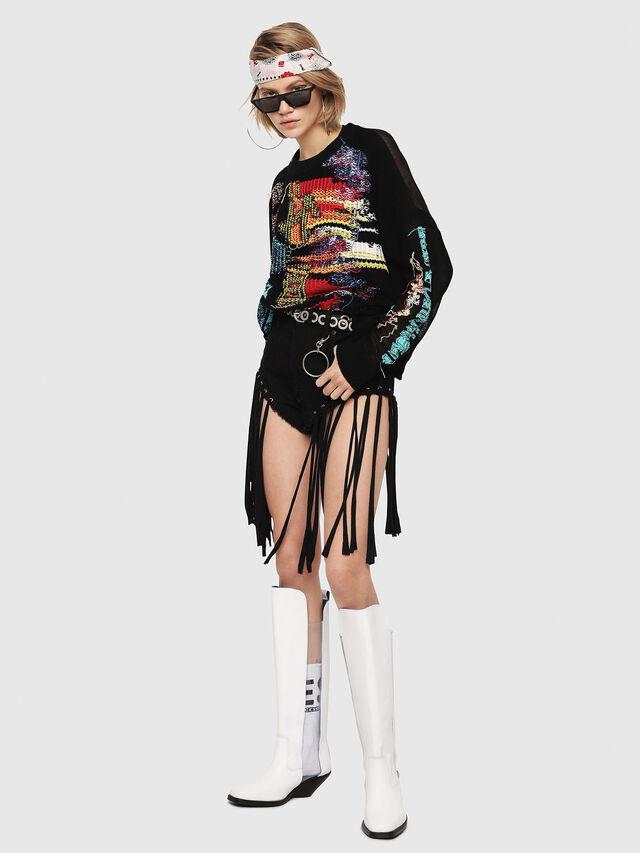 Diesel - M-NOW, Multicolor/Black - Knitwear - Image 5
