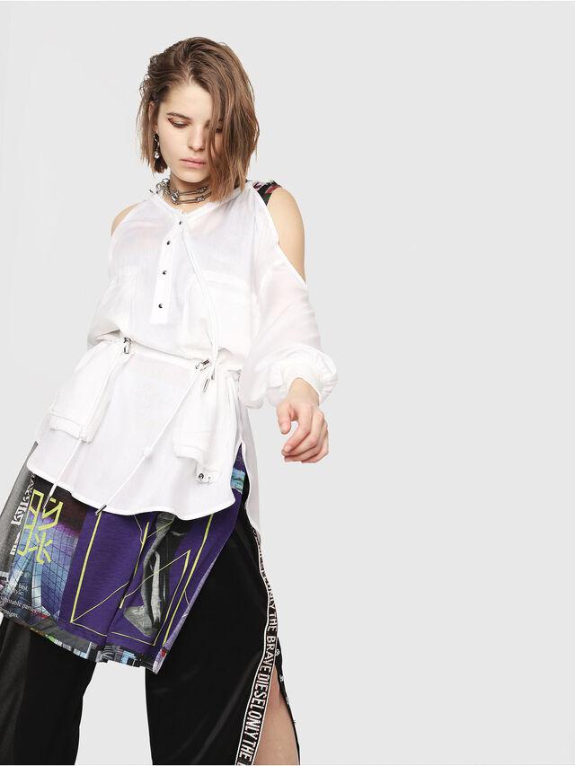 Diesel - C-RYO, White - Shirts - Image 6