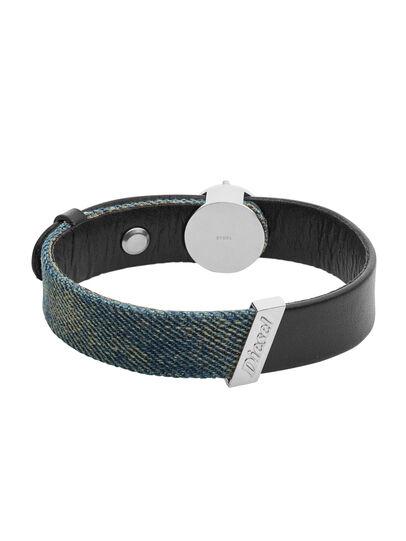 Diesel - BRACELET DX1029, Blue Jeans - Bracelets - Image 1