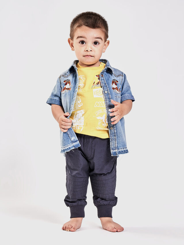 Diesel - CATTOB, Blue Jeans - Shirts - Image 4