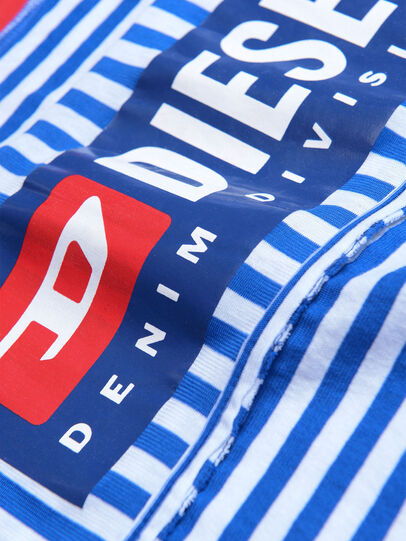 Diesel - TJVANE, Blue/White - T-shirts and Tops - Image 3