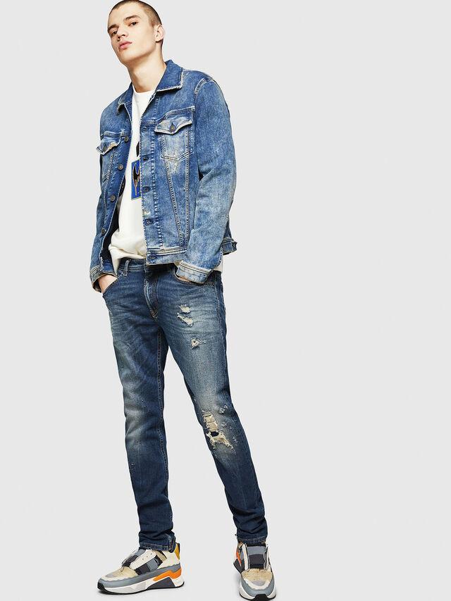 Diesel - Thommer 083AC, Dark Blue - Jeans - Image 5