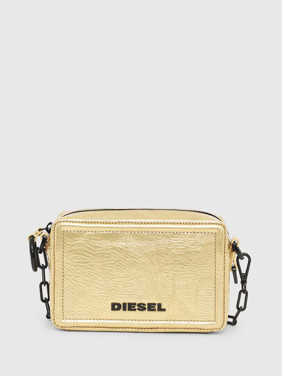 Diesel - ROSA' PCHAIN, Gold - Crossbody Bags - Image 1