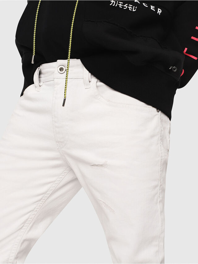 Diesel - Thommer 069DX, White - Jeans - Image 3