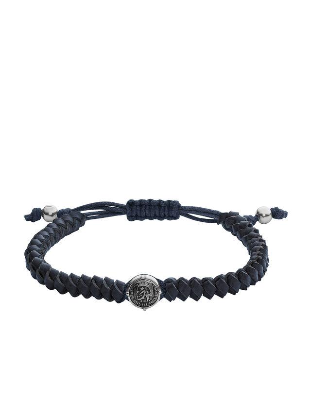 Diesel - BRACELET DX1047, Blue - Bracelets - Image 1