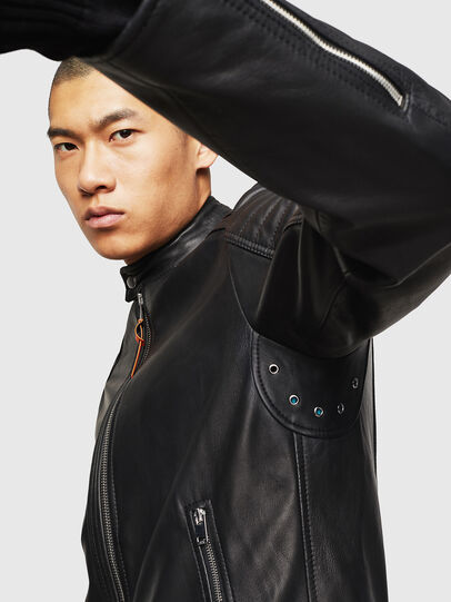 Diesel - L-SHIRO,  - Leather jackets - Image 6