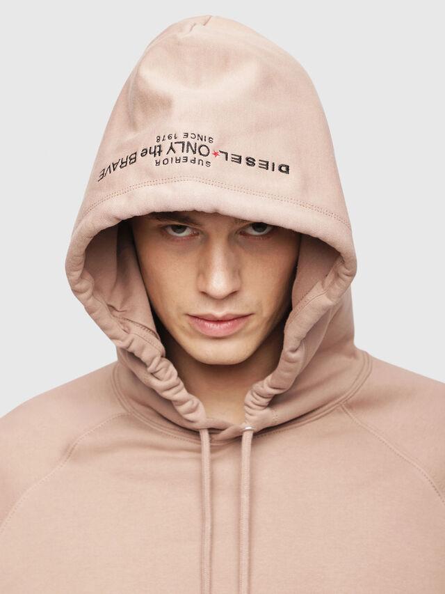 Diesel - S-GIM-HOOD-A, Face Powder - Sweaters - Image 3