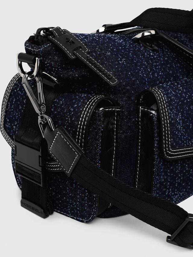 Diesel - MISS-MATCH SATCHEL M, Blue Jeans - Satchels and Handbags - Image 3