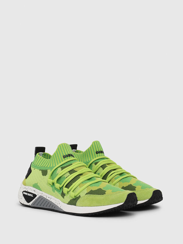 Diesel - S-KB SL W, Green Fluo - Sneakers - Image 2