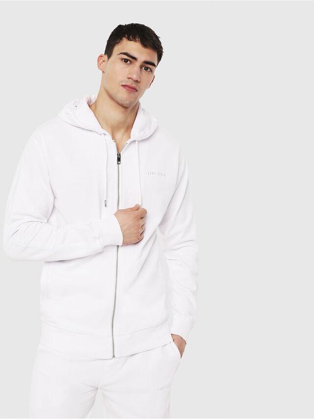 Diesel - UMLT-BRANDON-Z, White - Sweaters - Image 1