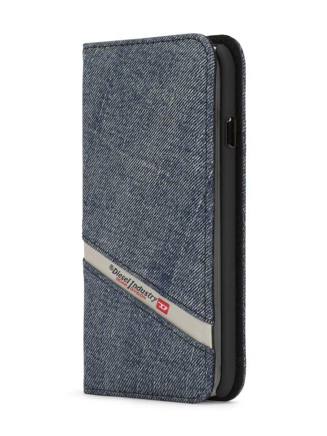 Diesel - DENIM IPHONE 8 PLUS/7 PLUS FOLIO, Blue Jeans - Flip covers - Image 2