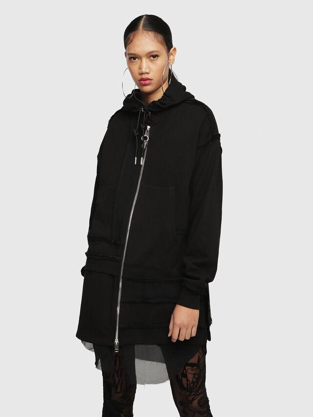 Diesel - F-TURE, Black - Sweaters - Image 1