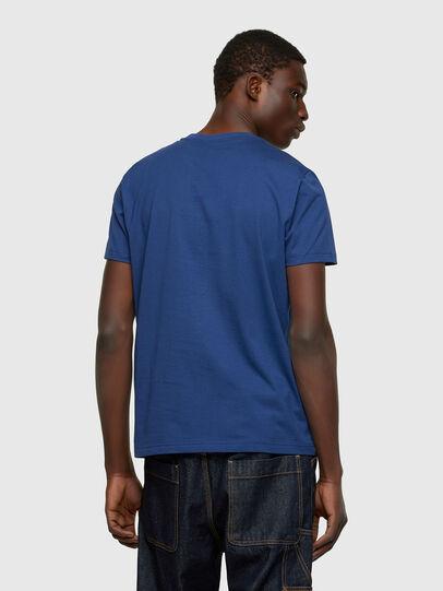 Diesel - T-DIEGO-CUTY, Blue - T-Shirts - Image 2