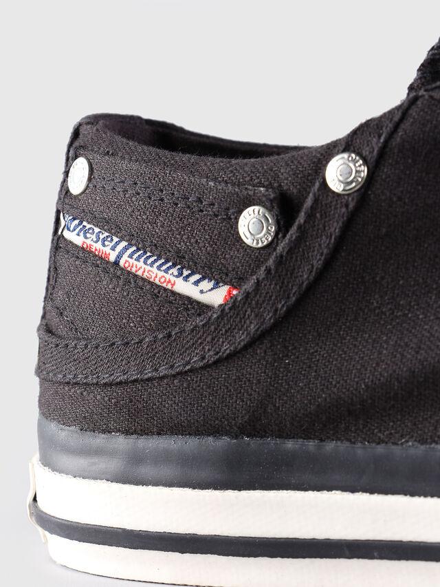 Diesel - EXPOSURE LOW, Black - Sneakers - Image 6