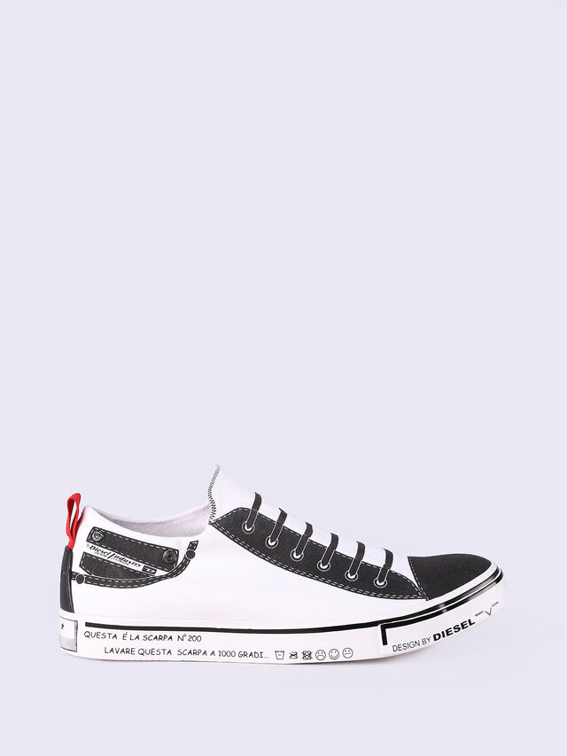 S-DIESEL IMAGINEE LOW SLIP-ON, White