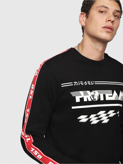 Diesel - T-JUST-LS-RACE,  - T-Shirts - Image 3