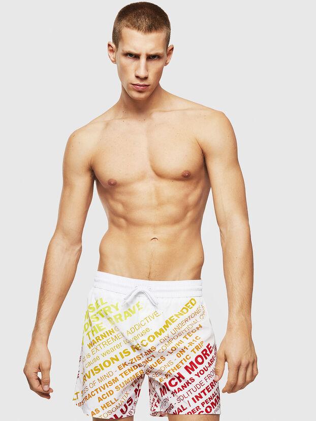 BMBX-WAVE 2.017, White - Swim shorts