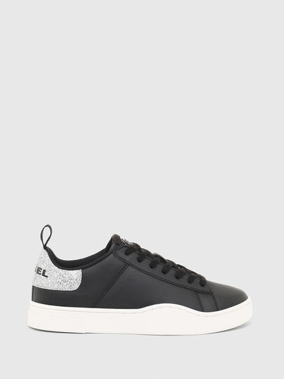 Diesel - S-CLEVER LOW LACE W, Black/Silver - Sneakers - Image 1